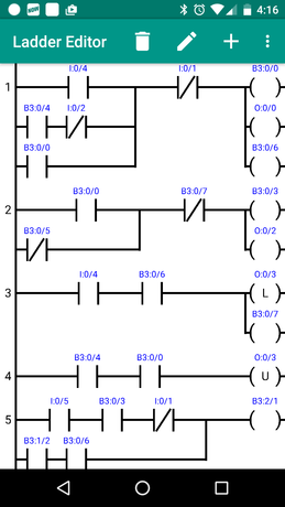 plc ladder simulator - free edition ladder logic diagram traffic light